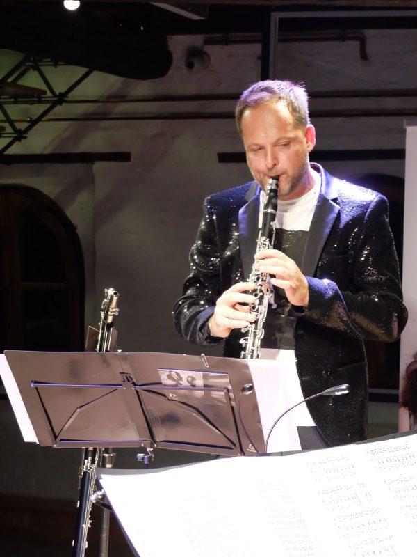 Duo Böf, Markus Renhart Klarinette