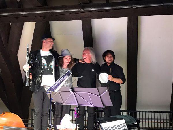 Duo Böf, Markus Renhart Klarinette, Michaela Bauer Akkordeon
