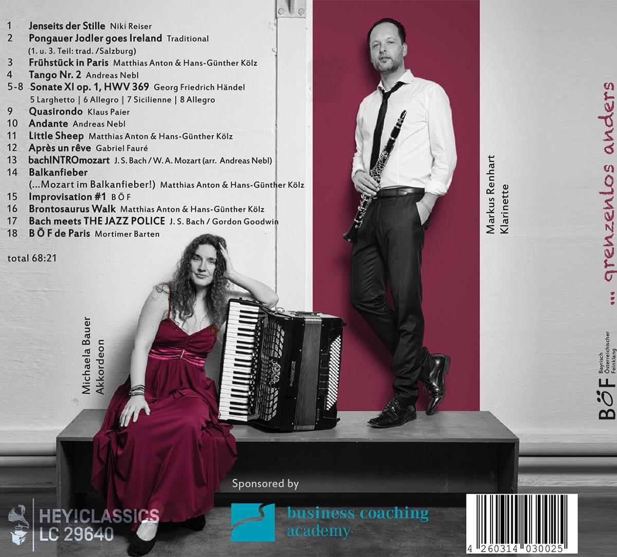 Duo Böf CD Titel