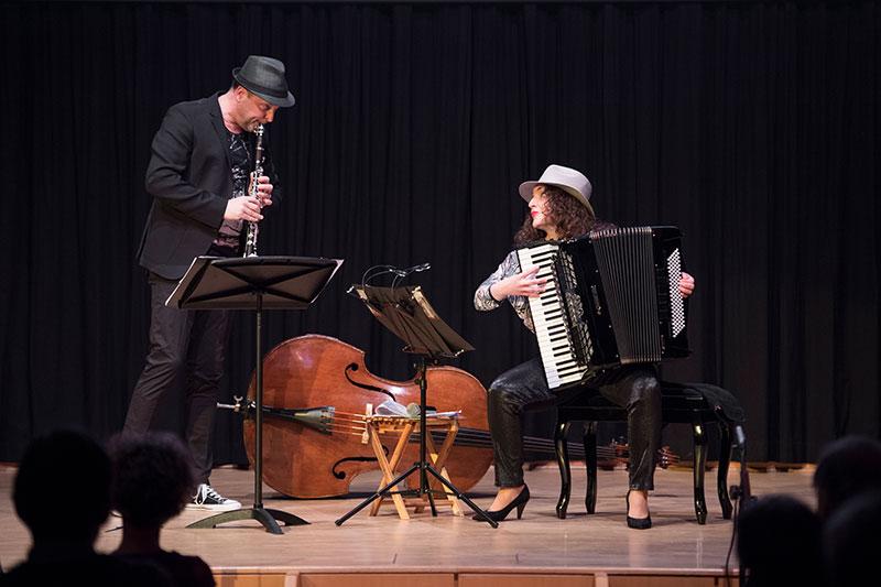 Duo BÖF CD Präsentation